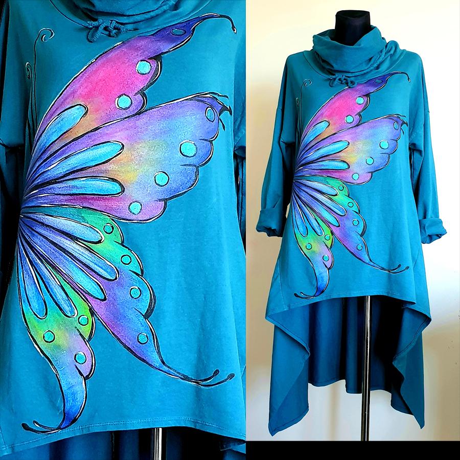 Motivi in poslikave metuljevih kril.