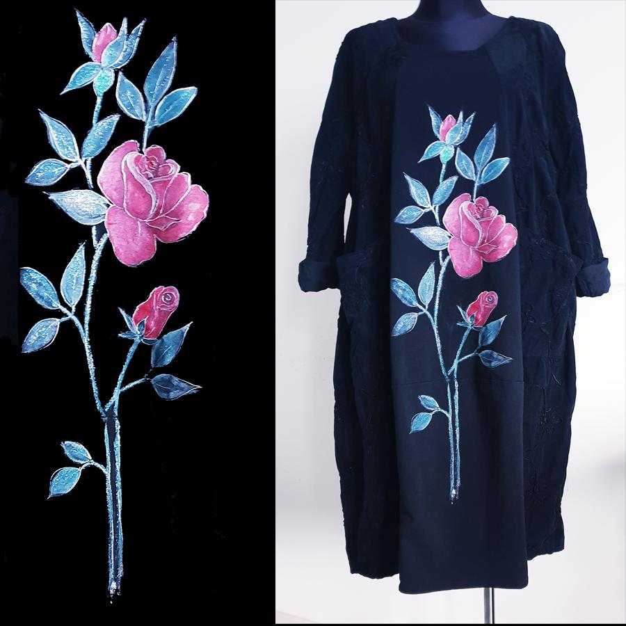 Vrtnica z enim cvetom in