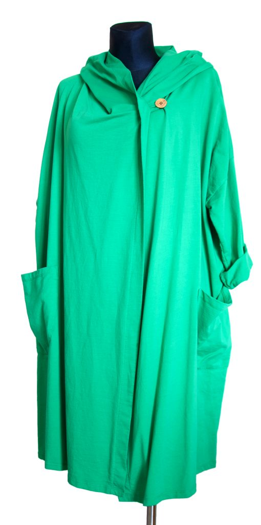Model zelene dolge obleke.