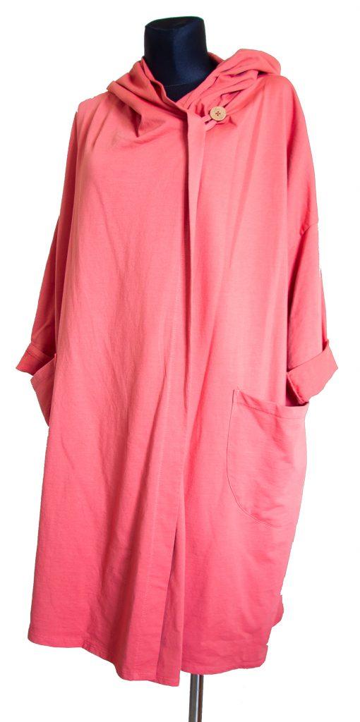 Model obleke roza dolga obleka